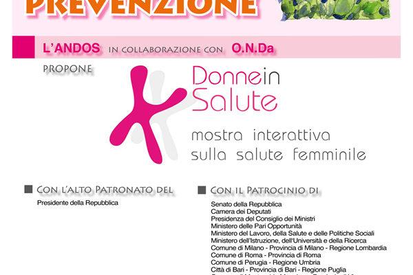 Domenica 18 ottobre 2009: GIORNATA DELLA PREVENZIONE