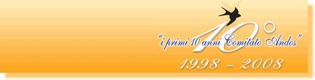 """Sabato 29 marzo 2008: """"Nuova Primavera di Vita"""" – """"Andos e le donne: 10 anni di vita insieme"""""""