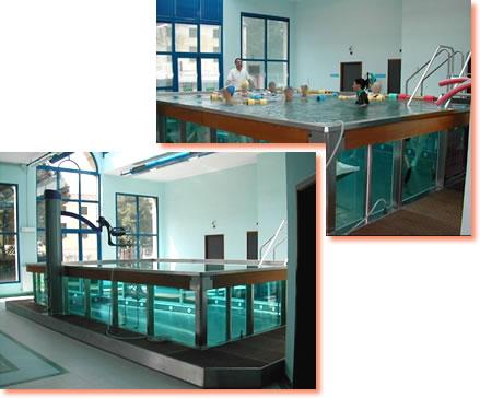La piscina riabilitativa dell'ULSS 5, presso l'Ospedale di Lonigo