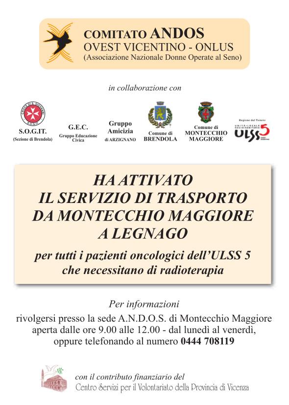 servizio trasporto Legnago