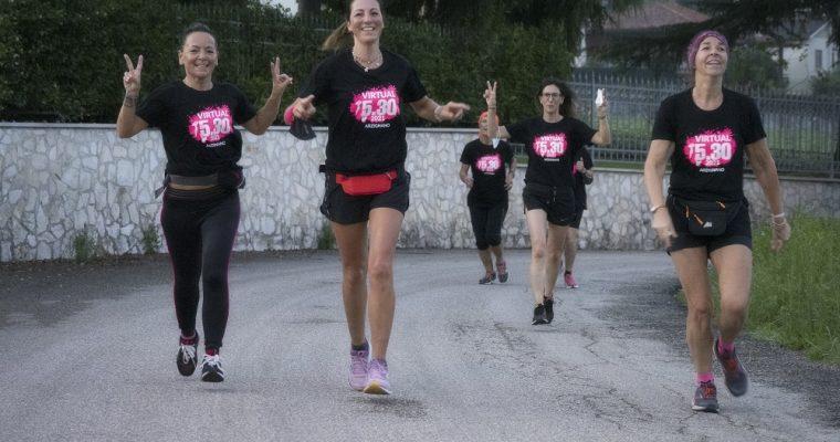 Arzignano 5.30 Virtual, la corsa in memoria di Stefania porta all'Andos oltre mille euro
